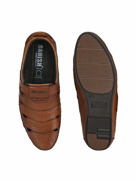 Banish Men's Genuine Leather Casual Sandal