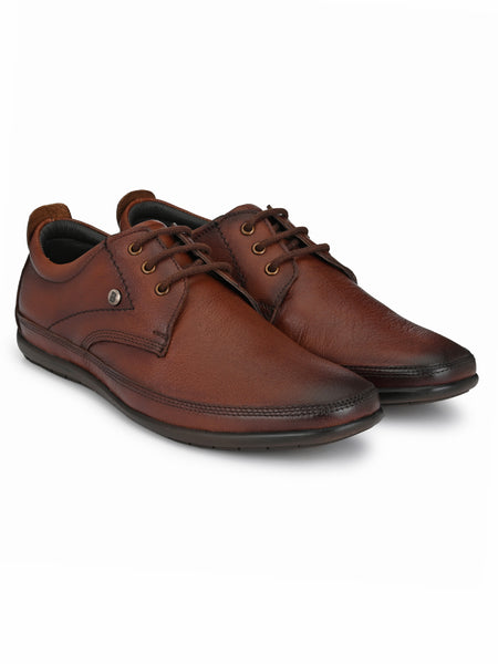 Banish Men's Genuine Leather Extra Comfort Office Derby