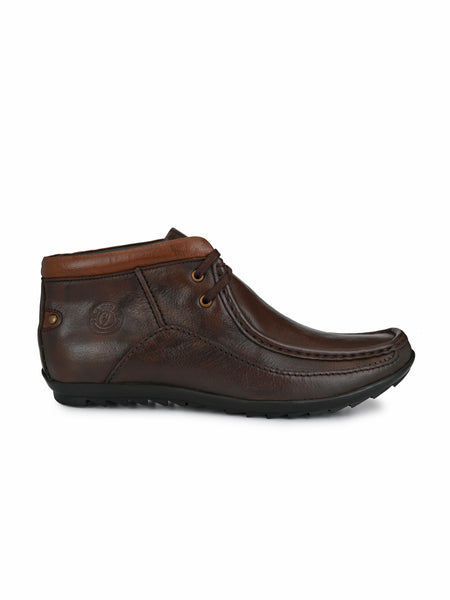 Banish Men's Genuine Leather Casual Ankle Boot