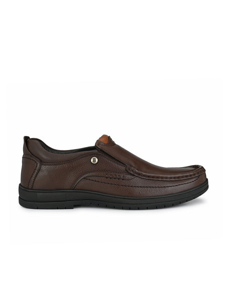 Banish Men's Genuine Leather Extra Comfort Formal Office Moccassin