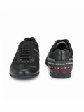 Banish Men's Genuine Leather Casual Polo Shoe