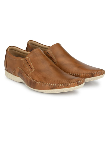 Banish Men's Genuine Leather Casual Moccassin