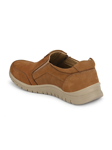 Banish Men's Genuine Leather Extra Light Casual Moccassin
