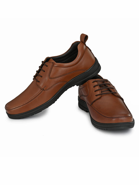 Banish Men's Genuine Leather Extra Comfort Formal Office Derby