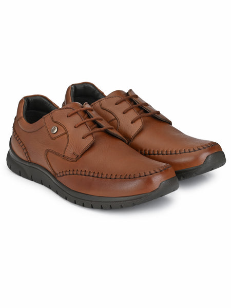 Banish Men's Genuine Leather Extra Light Casual Derby