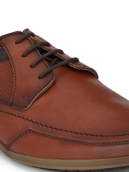 Banish Men's Genuine Leather Casual Lace Up