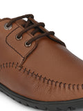 Banish Men's Genuine Leather Extra Comfort Casual Office Derby