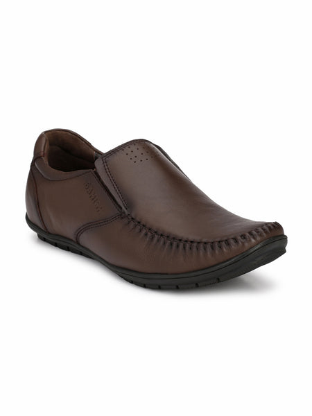BROWN CASUAL DRIVING LOAFERS