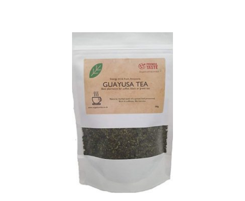 Guayusa  Tea 100g pack dry loose leaf + 5 empty tea bags