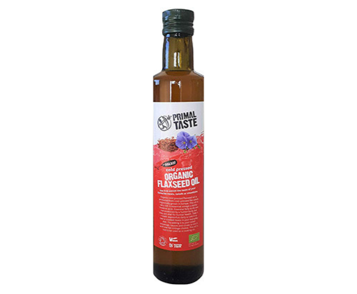 Organic Flaxseed Oil by Primal Taste (500ml)