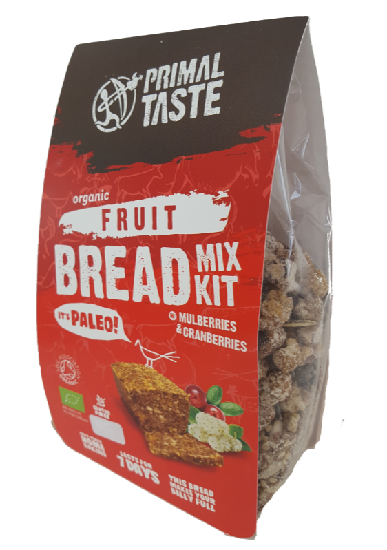 Organic FRUIT BREAD MIX KIT 450 g