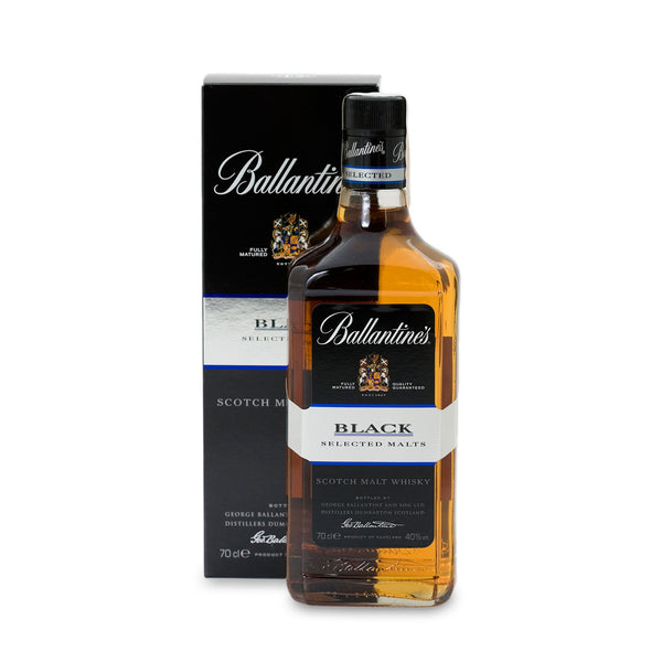 Ballantine's Black Blended Malt Scotch Whisky - 700 ml