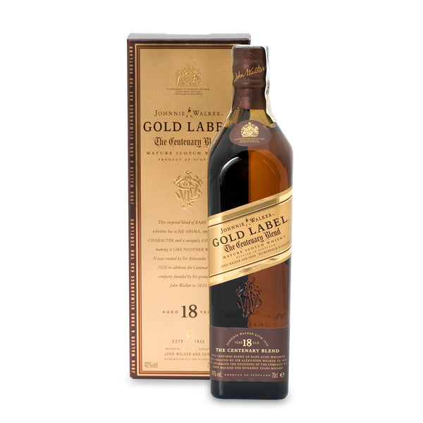 Johnnie Walker Gold Label 18-Year Blended Malt Scotch Whisky - 750 ml
