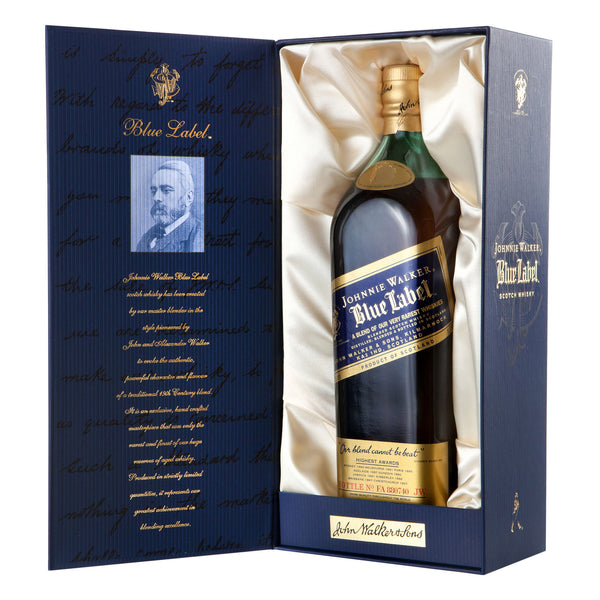 Johnnie Walker Blue Label Blended Malt Scotch Whisky - 750 ml