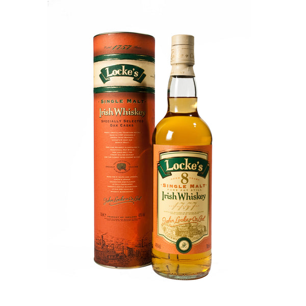 Locke's Oak Casks 8-Year Single Malt Irish Whiskey - 700 ml
