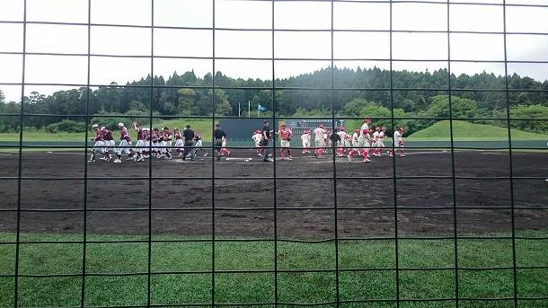 City opposition baseball Minamikyushu qualifying 2015 ①
