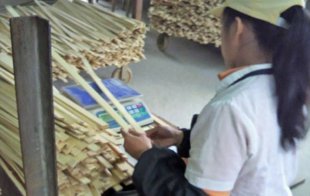 Bamboo bat manufacturing process 1