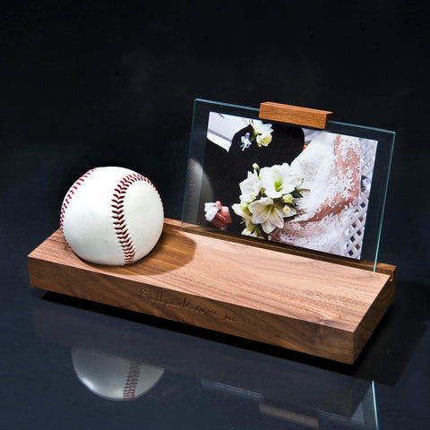Wooden photo stand / no stamp