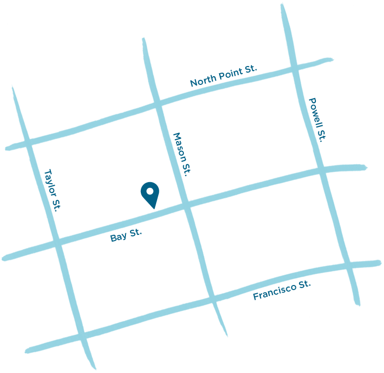 Street map of our location