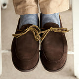 Men's Chocolate Loafer: Alternate View #5