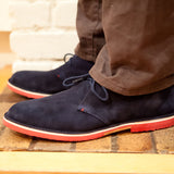 Men's Navy Chukka: Alternate View #5