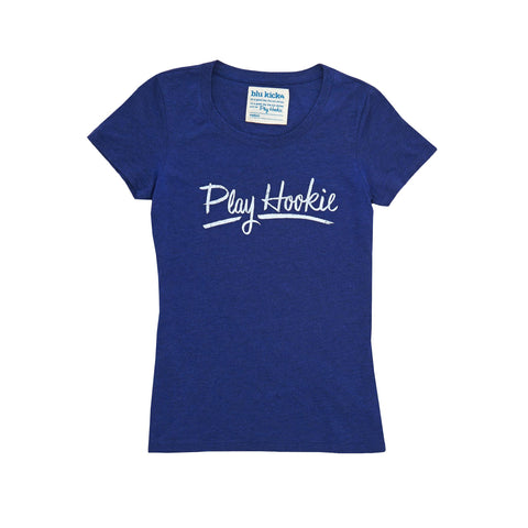 Navy Hookie Tee: Featured Product Image