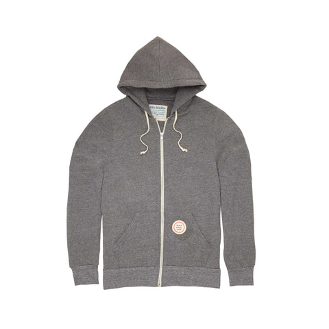 Gray Wave Hoodie: Featured Product Image