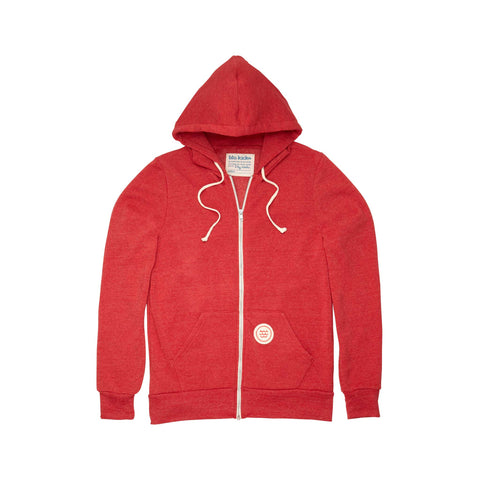 Red Wave Hoodie: Featured Product Image