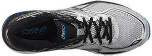 ASICS Men's Gel-Cumulus 19 Running-Shoes, Grey/Black/Directoire Blue, 11.5 2E US