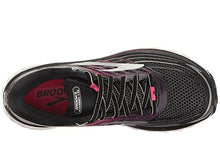 Brooks Women's Glycerin 15 Black/Pink Peacock/Plum Caspia 9 B US
