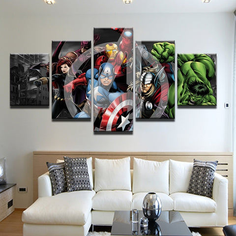 iron man poster, iron man painting, avengers canvas