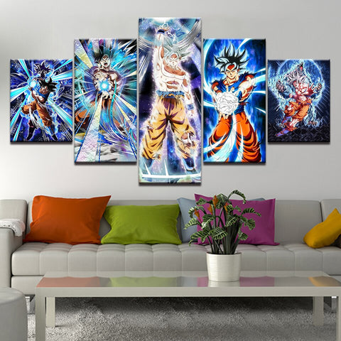 dragon ball canvas, dragon ball super canvas, goku wall art