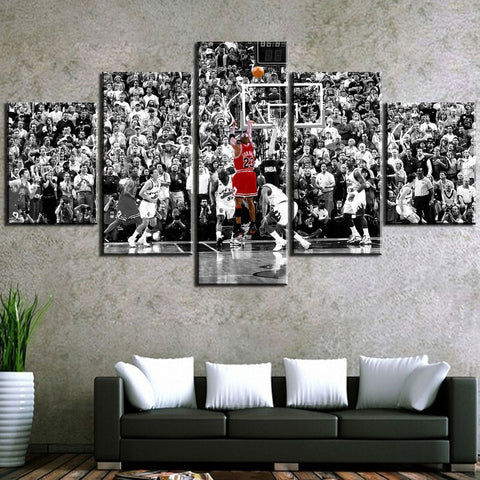 michael jordan canvas, michael jordan wings
