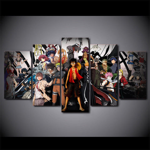 one piece wallpaper, one piece wall poster, one piece original art