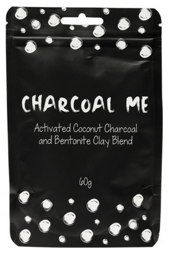 Charcoal Me with Betonite Clay facial powder mask