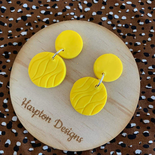 Polymer clay Ainsley dangles