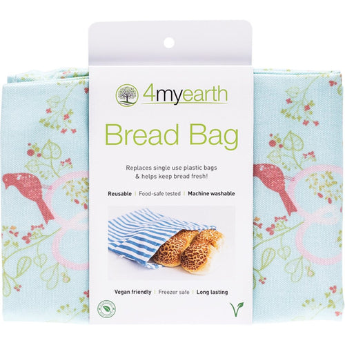 4MyEarth Bread bag- Love Birds