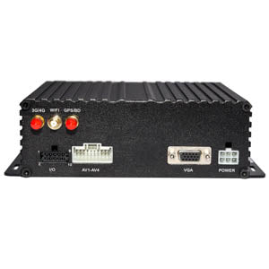 1080P - 4 Channel DVR - HDD + SD