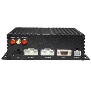 1080P - 8 Channel DVR - HDD + SD