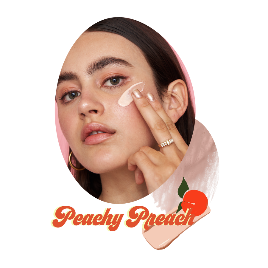 PEACHY PREACH PHYSICAL SUNFLUFF SPF30 PA+++ 40mle