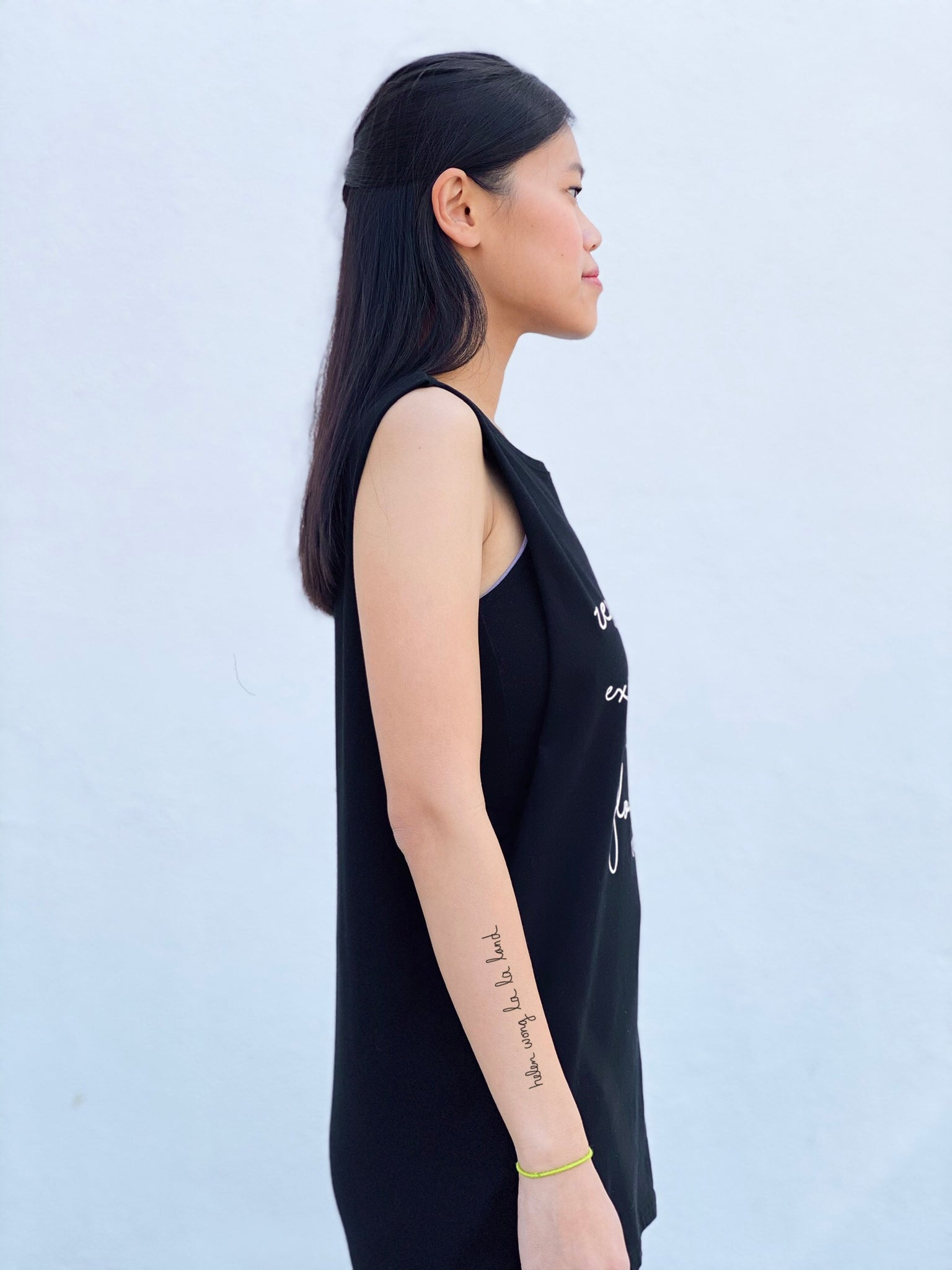 (S/S 2020) Respect Animal Existence sleeveless tee in BLACK ORGANIC m