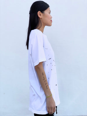 (S/S 2020) Save Earth distressed tee