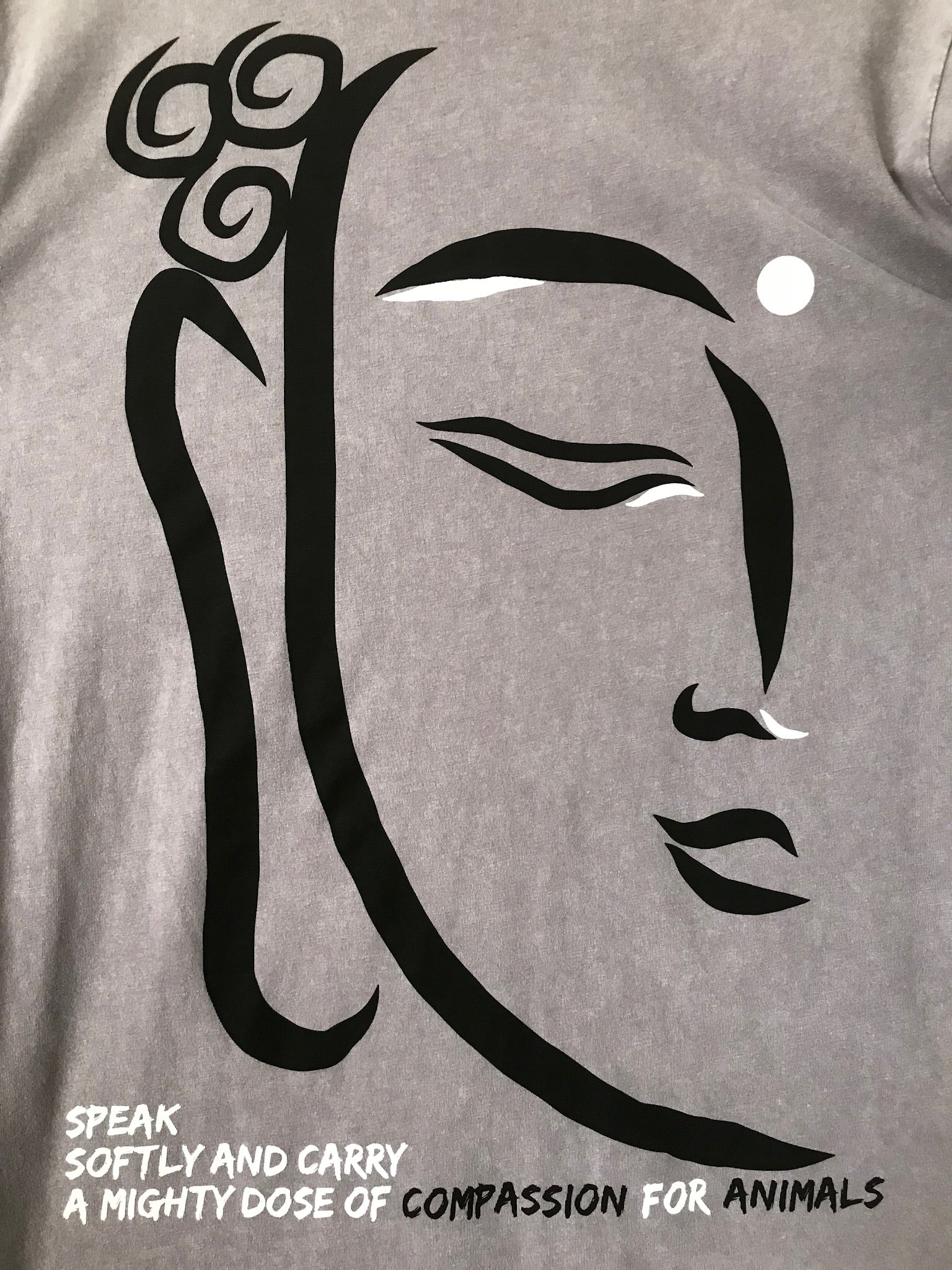 Buddha, love, compassion, vegan, fashion, animal rights