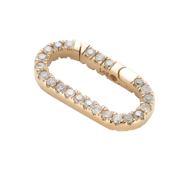 14k Diamond Lock - Nolita