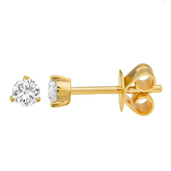 14k Diamond Studs 0.20 ctw