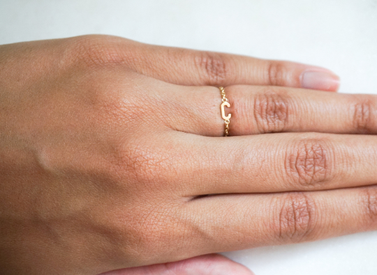14k Initial Chain Ring