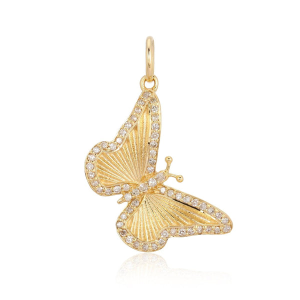 14k Diamond Butterfly - Nolita