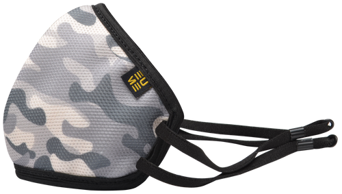 +95 Camo Grey Face Mask by EUME
