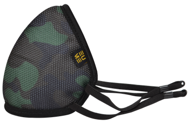 Protect +95 Camo Green Face Mask by EUME