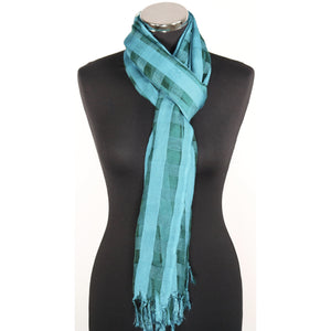 Poly Silk Scarf (14 Colours)